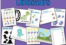 thema: dinosaurussen allerlei