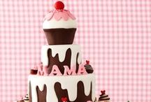 Äitienpäiväkakkuja - Mothers Day Cakes