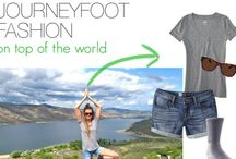 JOURNEYFOOT FASHION / Comfortable, cute, outdoorsy and functional style.