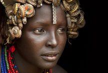 Beautiful World African People