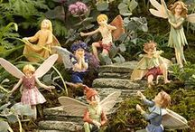 Fairy Gardens/Houses/Hobbit/Gnomes / In the world of make-believe...or is it? Faeries work magic everyday!  Faeries love beauty, song & dance. Everything faeries make is exquisitely beautiful, and they do it with joy & laughter. Faery healing is energy healing.  Faeries work with the energy of earth, plants, animals & stones to heal all of nature, including humans. Faeries know that we live in an abundant Universe; they would like us to keep it that way! (source: Bernadette Wulf ) / by Patricia Jones