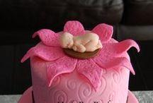 Vauvakutsukakkuja - Baby Shower Cakes / Suloisimmat ideat vauvakutsukakkuihin saat täältä!