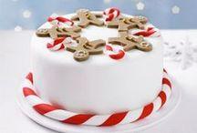 Joulukakkuja - Christmas cakes / Kauneimmat joulukakut - katso ja ihastu!