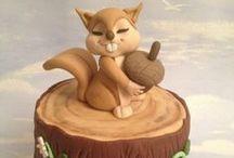 Eläinkakut - Animal Cakes / Eläimellisen inspiroivia kakkuja! #inspiration #animals #kakku #cake #decorate