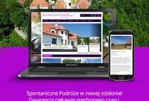 Odnowiona strona Spontanicznych Podróży! / Zapraszam na odnowioną stronę :) http://www.spontanicznepodroze.pl/e-flyer/