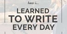 Schreiben ∙ Writing / Schreibtipps, -ideen, -anstöße,... ∙ writing prompts, tips, ideas,...