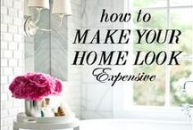 home staging / how to stage your home and be successful in it. some inspiration