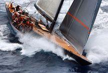 Yachts, Sailing