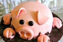Schweinchen Kuh + Bauernhof