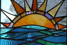 Stained Glass - ideas 2D / Inspiration for Leaded or Copper-foiled panels.