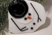 Fused Glass Christmas Ideas