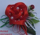 kanzashi-flower