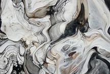 M A R B L E  I  inspiration / colour palette and images of marble or watercolours for your inspiration