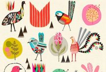 ILLUSTRATION + DESIGN / pretty illustrated prints, drawings, charts, patterns, designs, etc.