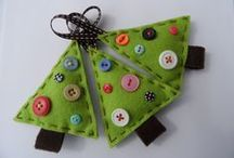 Holiday: Christmas / Ideas for Christmas crafts, treats, gifts, stocking stuffers and ornaments.