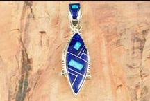Blue Lapis Jewelry / by Treasures of the Southwest.com