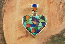 Calvin Begay Jewelry / Beautiful Jewelry from the Famous Navajo Artist Calvin Begay. / by Treasures of the Southwest.com