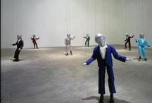 on a string / Puppetry, mask and objects that animate