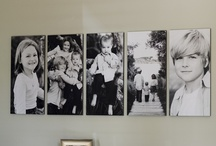 {Home} Photo display/Wall Decor / by Shannon Oleyar