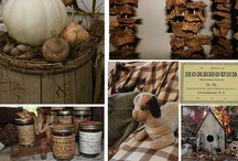 {Home} Primitive Decor / by Shannon Oleyar