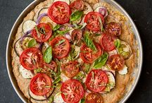 PIZZA AND FLATBREAD / Delicious pizza and flatbread recipes of all kinds.