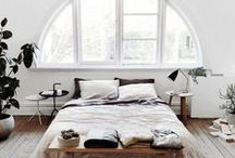 bedroom spaces / Bedroom spaces we have them and love them. From bold colors to quiet retreats.