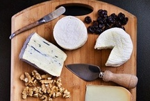CHEESE / Cheese, glorious cheese! Pretty cheese boards, tips and helpful hints for creating board, and accompaniments.