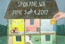 The Farm Chicks Posters / Posters from The Farm Chicks Vintage & Handmade Fair, held annually in Spokane, Washington.