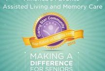 Caring Stars of 2015 / Caring.com highlights America's Best Assisted Living & Alzheimer's Care Communities for 2015  / by Caring.com