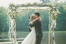 Rustic Elegance / Wedding Inspiration {more elegance than rustic-ness}