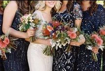 Starry Night / Navy and Gold Wedding Inspirations