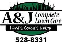 ~A & J COMPLETE LAWN CARE~ / WE OWN AND OPERATE A LANDSCAPE BUSINESS.  WE ARE ALWAYS LOOKING FOR WAYS TO BETTER OUR BUSINESS. / by Jeff Angie Gautier Sybrant