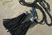 Tassels • Teece Torre / Gemstone tassel jewelry from Teece Torre.