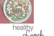 Food: healthy LUNCH