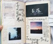 bullet journaling / Styling a bullet journal, inspiration for keeping a planner