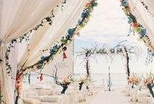 Summertime + Beach Weddings