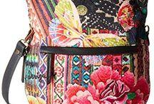 Handbags, Totes & Backbacks / Embellished purses, totes and backpacks.