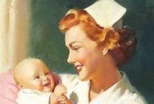 Nurse and Nursing Infographics / by rachael thomas