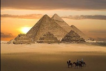 Pyramids (www.vantage-travels.com) /  For thousands of years, the largest structures on Earth were pyramids—first the Red Pyramid in the Dashur Necropolis and then the Great Pyramid of Khufu, both of Egypt, the latter the only one of the Seven Wonders of the Ancient World still remaining. Khufu's Pyramid is built mainly of limestone (with large red granite blocks used in some interior chambers), and is considered an architectural masterpiece. It is  the tallest pyramid.