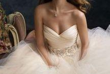 A line/Princess Wedding Dresses