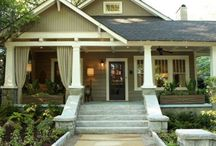 Craftsman Bungalow / Wonderful houses built early 20th century.
