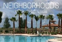 Neighborhoods - Port St. Lucie / Discover different neighborhoods through our featured videos in Port St. Lucie, Florida