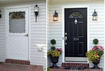 Curb Appeal / Preparing to sell or maintaining exterior beauty, here are some tips to create curb appeal.