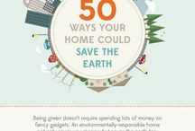 Green Living / How to be more energy efficient on the home front.