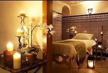 ॐSerenity Sanctuary Spaॐ / Body. Mind. Soul.  Turkish baths, zen pools, retreats, orchids, koi, kimonos, aromatherapy, steams, facials, therapeutic massage, many different body modalities / by Robin Allecher
