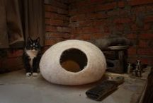 Cat cave / Cat cave is comfortable for pets and beautiful for your home!