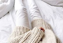 Cozy / Cozy knits to keep you warm this Winter.