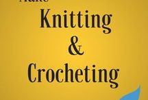 Make // Knitting/Crocheting project for Teens and Adults / Join us for our Teen Knitting/Crocheting Club (the first Fridays of every month) or our A Good Yarn: Knitting and Crocheting Guild for Adults (every third Thursday of the month)!