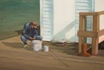 Artwork / Paintings by Hugo Harvey