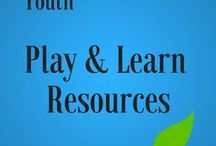 """Youth """"Play & Learn"""" Resources / Every Tuesday at South Branch, we do a craft with our Play and Learn group! Toddlers (and parents) can complete a craft based off our story that day."""
